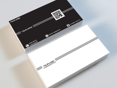 business card design mockup brand identity business card design minimal logo flat branding