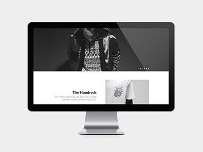 Overview Delaru Clothing minimal minimalism homepage clothing ui
