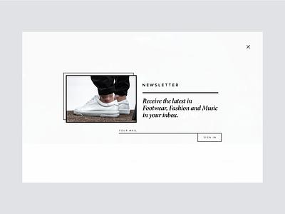 Newsletter Layout newsletter minimalism minimal