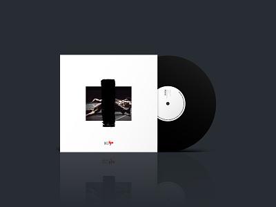 Bjm Vinyl Artwork layout minimal music white print packaging artwork cover vinyl