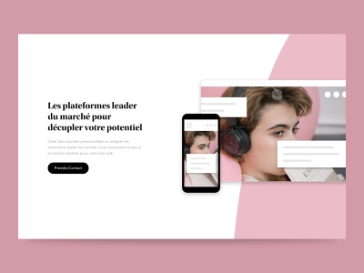 SD - Extensions design ui type structure minimalism white layout minimal