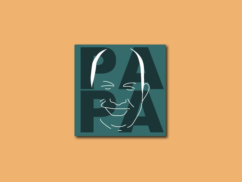 PaPa (Illustration | Logo Design | Personalization) apparel logo design logo concept logo illustration design