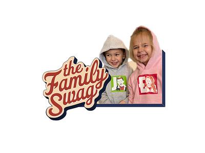 The Family Swag ad ad campaign illustration branding apparel logo logo design logo concept design brand concept apparel design custom logo