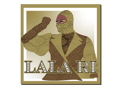 "RuPaul Season 13 ""LaLa Ri"" lgbtqa drag queen rupaul rupauls drag race ui graphic design funny illustration design"