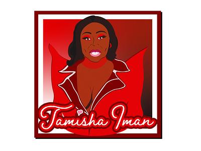 "RuPaul's Drag Race Season 13 ""Tamisha Iman"" drag queen rupauls drag race graphic design apparel funny illustration design"