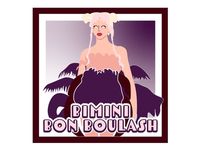 "RuPaul's Drag Race UK Season 2 ""Bimini Bon Boulash"" design graphic design illustration rupauls drag race"