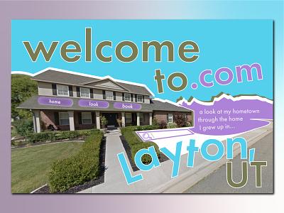Welcome to Layton, Utah ...dot com. landing web designer web design weeklywarmup weekly warm-up landing page design landing page utah layton ui graphic design design