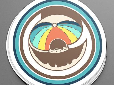That One Gay Bar gay bar pride gay sticker branding logo design logo apparel graphic design illustration design