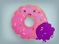 Happy Doughnut D... Ouch!