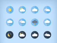 Daniele de santis weather icons full set