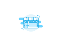 Shop illustration / icon