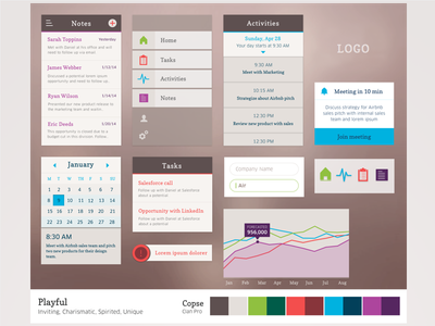 Visual Language Study 1 ui design typography iconography color interaction design