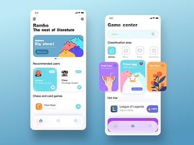 Rambo Concept interface app design ui