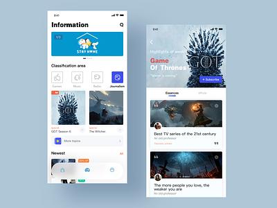 Rambo Concept interface flat icon app ui design