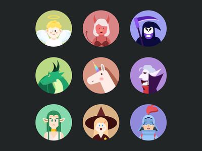 informal essay icon illustrator typography illustration flat app ui design