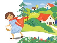 Little Red Riding Hood: To Grandma's
