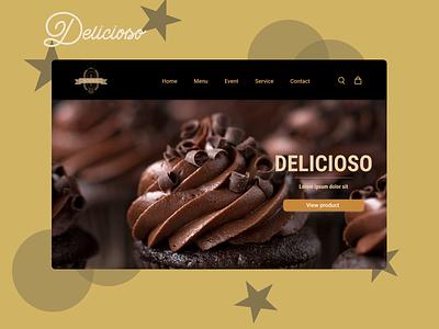 DELICIOSO web design ux ui thyratiara