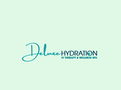 # 1. Deluxe HYDRATION (3 Professional Logo Design's) luxury elegant unique modern signature branding logo graphic design 3d