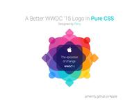 Apple WWDC '15 Logo in CSS