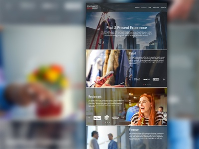 Experience Page Design
