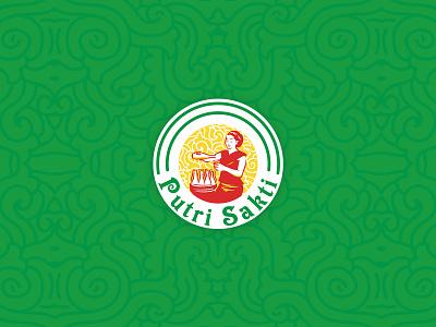 Jamu Putri Sakti Logo desainlogo logo jamu herbal logo classic logo illustration vector design logo visual identity brand identity branding