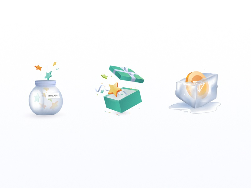 Crypto Icons | 3D rendering design icon storytelling currency cryptocurrency green 3d illustration