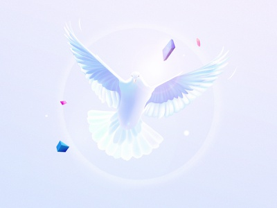Peace and unity ✌️ wallpaper design art bird illustration editorial spiritual peaceful dove unity world poetry peace illustrator storytelling 3d illustration