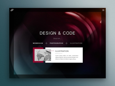 Sneak Peek Personal Website rennes website colorful art creative illustration photography psd design ui ux webdesign