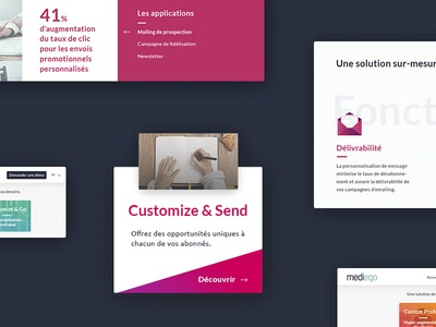 Preview ui kit graphic rennes showcase website redesign webdesign design kit ui