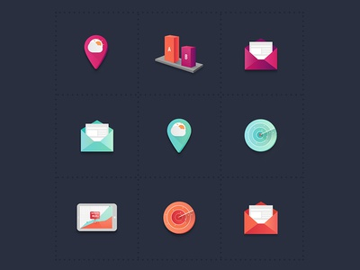 Icons sets storytelling interactive feature rennes ui design ui web redesign website set illustration icons