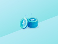 Isometric Illustration | Coin