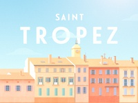 St Tropez - Illustration