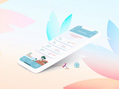 Summer App palm ux ui aircraft summer app application mobile privatejet