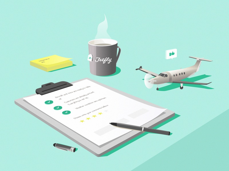 Illustration | Aircraft note storytelling ui illustrator graphism airline air isometric illustration travel aviation aircraft