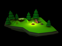 LowPoly for fun