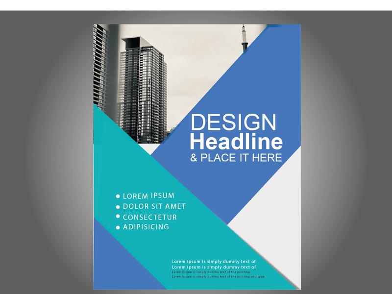 FLYER OF BUSINESS design branding