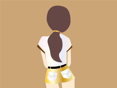 Girl illustration vector branding illustration illustrator