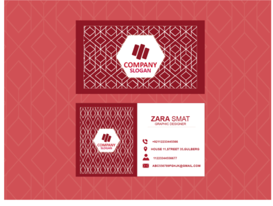 BUSINESS CARD HAVE PATTERNS stationery design illustrator vector branding design