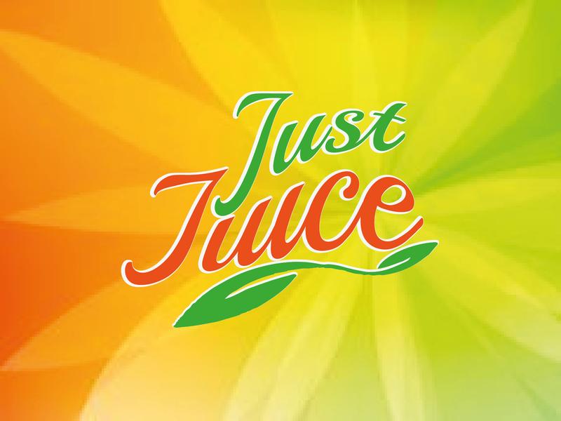 JUICE LOGO logotype logodesign illustrator vector branding logo design