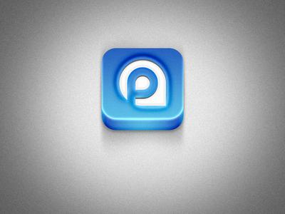 Park Around Blue iOs icon