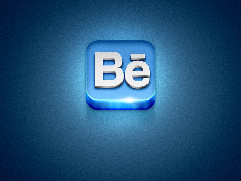 Behance ios icon behance