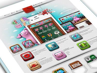 Tarentola Website - ClockWise App Presentation