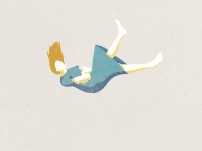 Falling Patient WiP editorial illustration health illustration