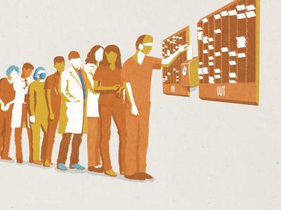 Wellbeing Illustration editorial illustration health illustration