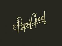 Paper Good Script