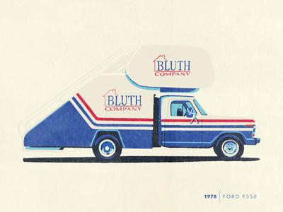 Bluth Stair Car - Car Series stair car arrested development car series illustration