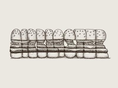 Airburger food stiple type