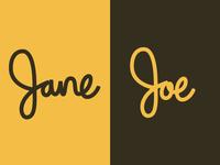 Jane | Joe