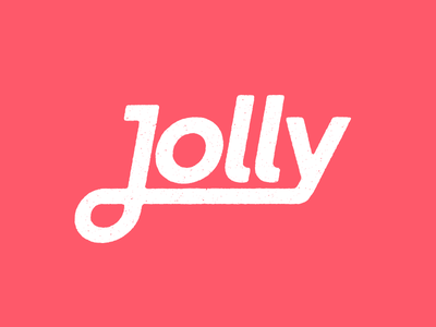 Jolly logo logo branding distressed jolly retro vintage