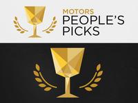People's Picks logo concept